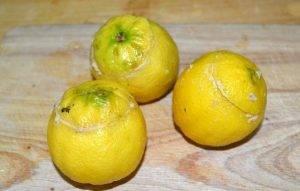 Фаршированные лимоны тунцом - 3