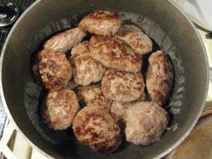 Котлеты из свиного фарша с кабачками - 3