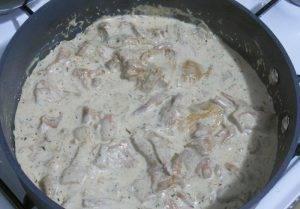 Свиная вырезка с соусом из лисичек - 3