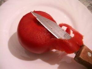 Розочки из помидоров - 0