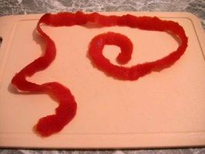 Розочки из помидоров - 1