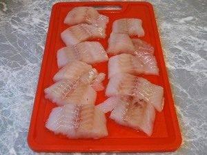 Жареная рыба с овощами - 0