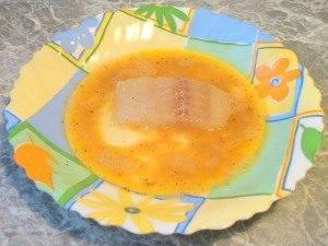 Жареная рыба с овощами - 1