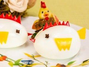 Фаршированные яйца «Цыплята» - 5