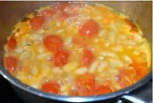 Фасолевый суп с помидорами и сельдереем - 1