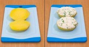Картофель с творожно-сметанным кремом - 3