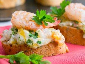 Бутерброды с креветками - 4