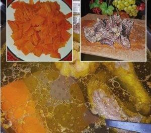 Суп вермишелевый из цесарки - 1
