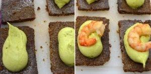 Бутерброды с креветками и авокадо - 4