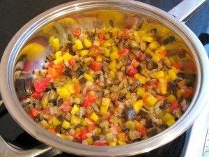 Жареная камбала с овощами - 1