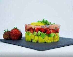Тартар с лососем - 3