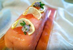 Террин из форели с лососем - 3