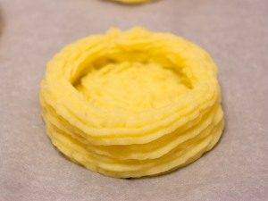 Гнездышки из картофеля с грибами - 3