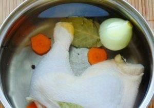 Солянка из курицы с колбасками в мультиварке - 0