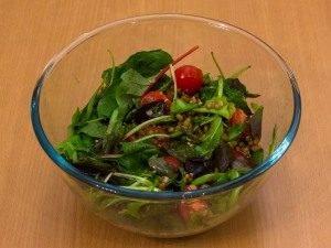 Салат с машем, черри и тимьяном - 5