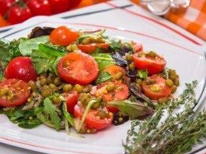 Салат с машем, черри и тимьяном - 6