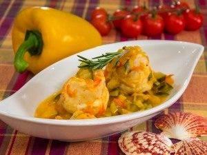 Рыба, тушенная в овощах - 5