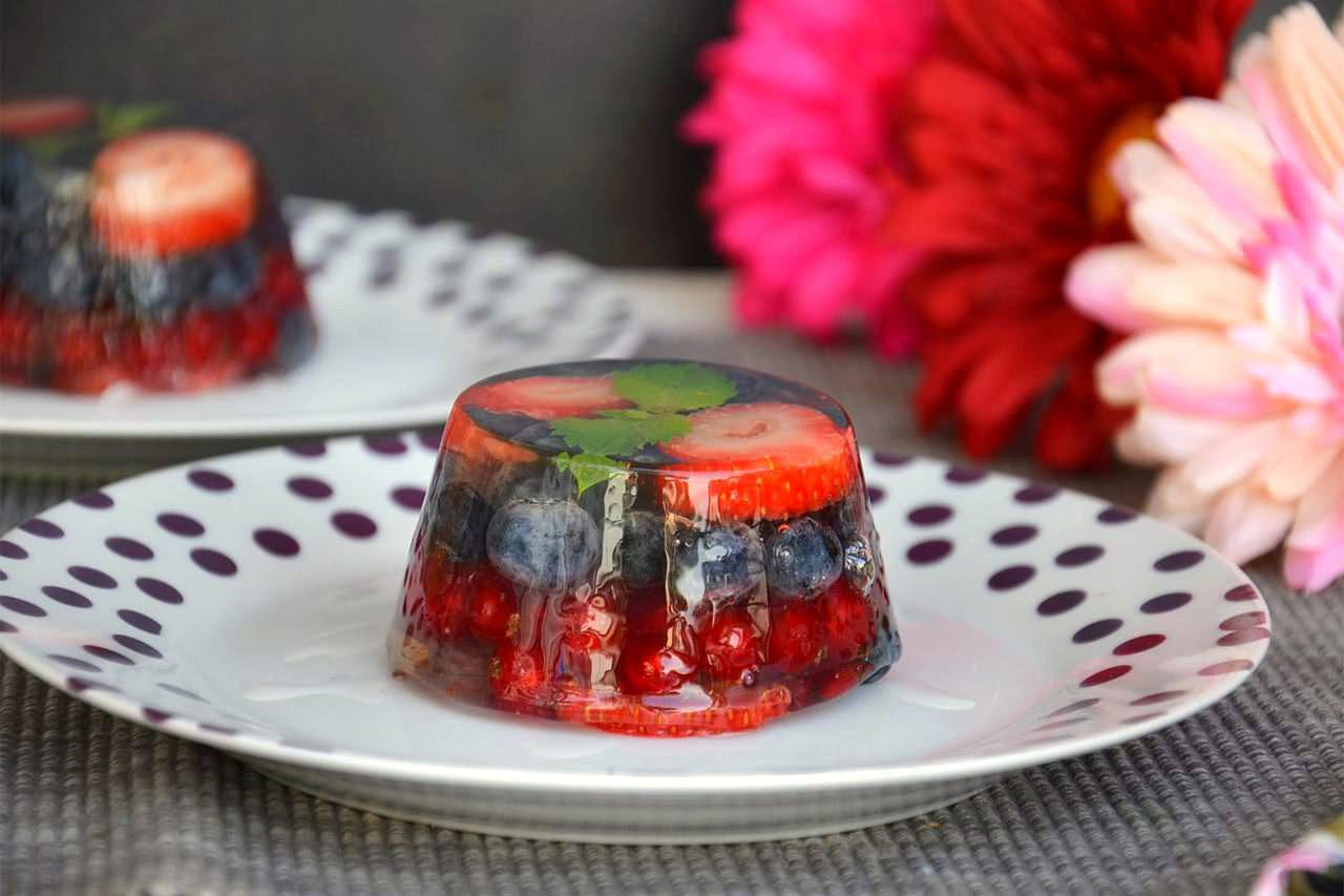 Как сделать ягодное желе фото 20