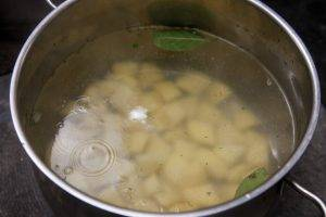 Рыбный суп с кукурузной крупой - 0