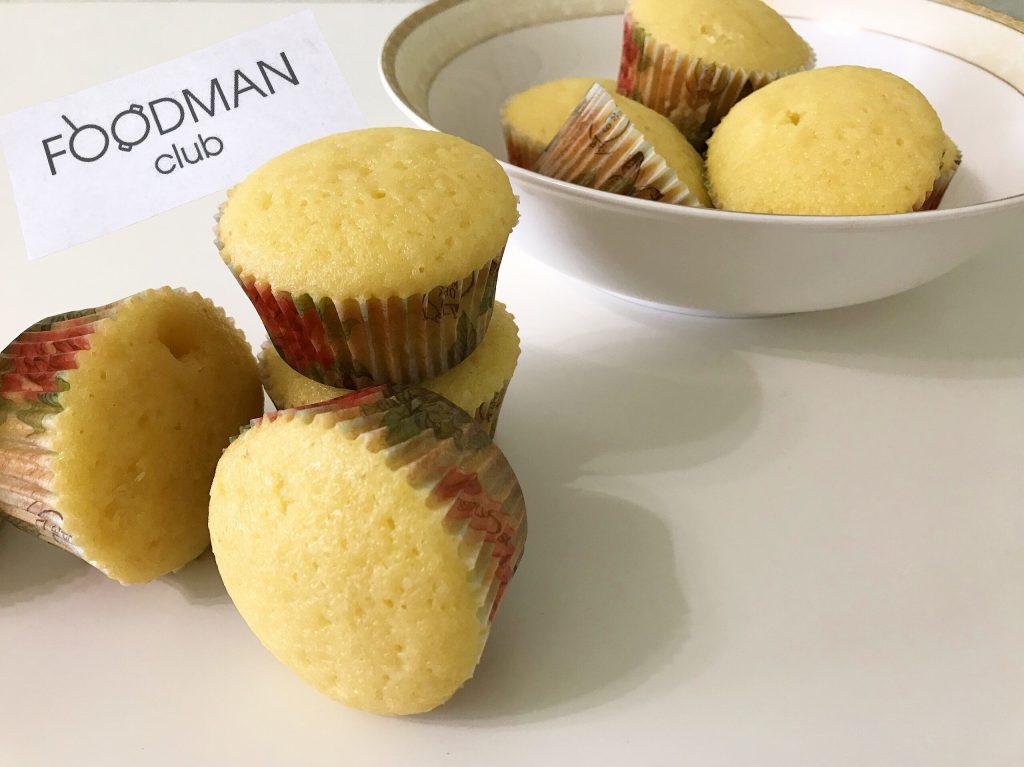 Лимонные кексы пп