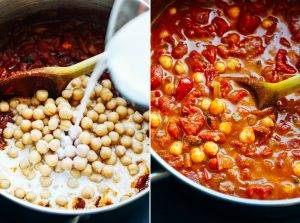 Пряный соус из нута для рисового блюда - 1