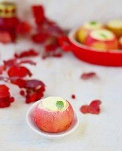 Печеные яблоки с творогом - 3