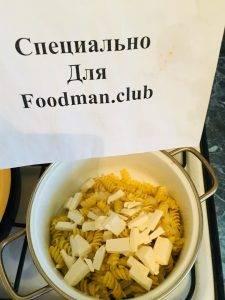 Макароны с сыром и отварным луком - 7