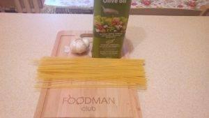 Жареные спагетти с чесноком и прованскими травами - 0