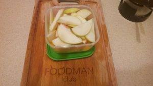 Медовый тыквенный десерт с яблоками - 3