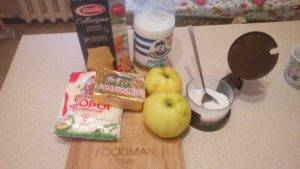 Сладкая лазанья с яблоками - 0