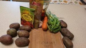 Картошка, томленная в духовке с овощами - 0