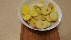 Картошка, томленная в духовке с овощами - 1