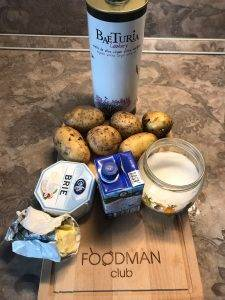 Картофельный гратен с сыром бри - 0