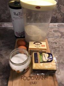 Сырные крекеры - 0