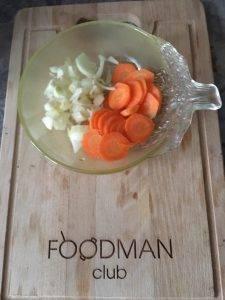Вегетарианский грибной суп с перловкой - 2