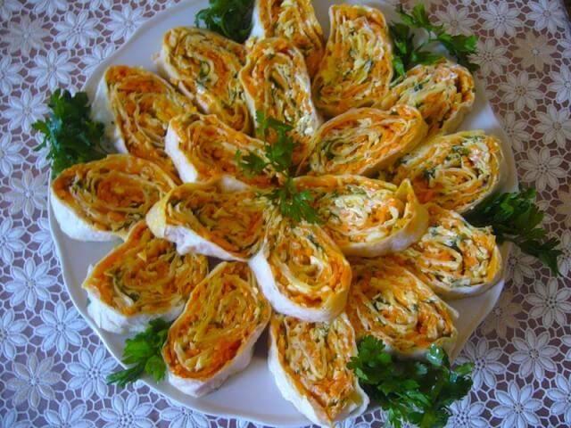 лаваш скорейской морковкой рецепты с фото
