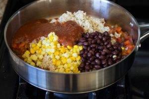 Мексиканская рисовая запеканка - 1