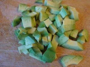 Салат с диким рисом и авокадо - 0