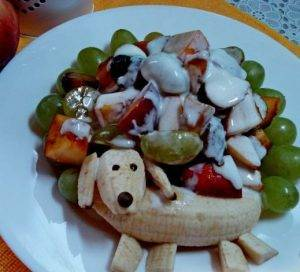 Детский салат
