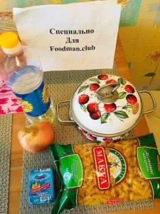Макароны с сыром и отварным луком - 0