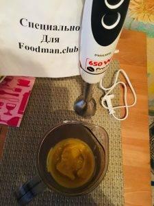 Детское пюре в микроволновке из тыквы, яблок и банана - 5