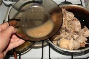 Чахохбили из курицы с картофелем - 3