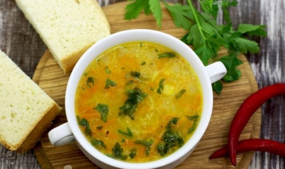 Суп из кукурузной крупы ♨