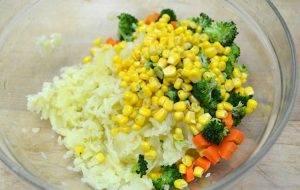 Вегги-овощные котлетки - 1