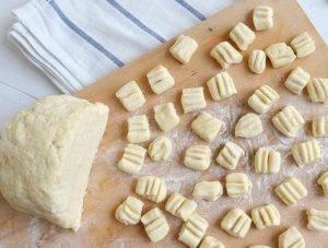 Сырные ньокки с помидорами черри - 0