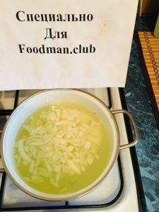 Макароны с сыром и отварным луком - 1