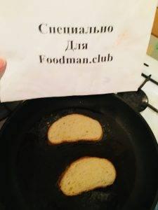 Гренки в молоке из белого хлеба - 4