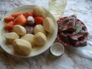 Картофельный суп с ребрышками в мультиварке - 0