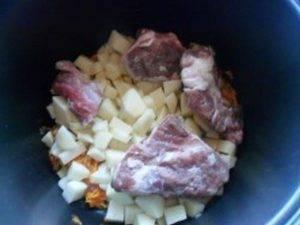 Картофельный суп с ребрышками в мультиварке - 2