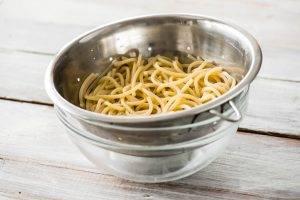 Спагетти с лимонным соусом - 0